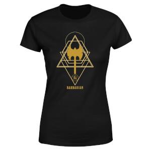 Dungeons & Dragons Barbarian Women's T-Shirt - Black