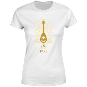 Dungeons & Dragons Bard Women's T-Shirt - White