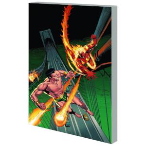 Marvel Comics Sub Mariner and Original Human Torch Trade Paperback