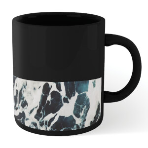 Blue Marble Mug - Black