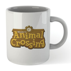Nintendo Animal Crossing Logo Mug Mug
