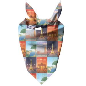 Travel Europe Dog Bandana