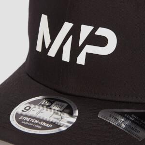 MP 9FIFTY Stretch Snapback - Black/White