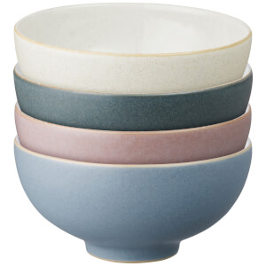 Denby Impression Mixed Rice Bowls (Set of 4)