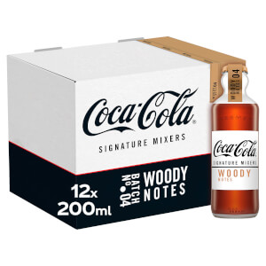 Coca-Cola Signature Mixers Woody 12 x 200ml