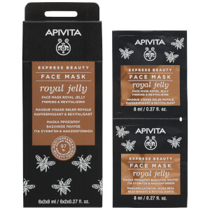 APIVITA Express Beauty Face Mask with Royal Jelly 12 x 8ml