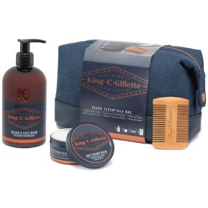 King C. Gillette Bartpflege Geschenkset