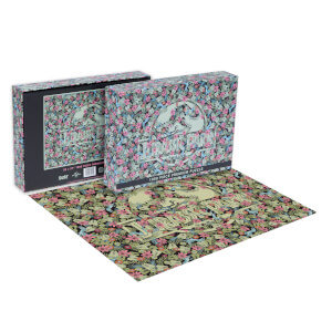 Dust! Jurassic Park Clever Girl Impossible 1000pc Puzzle - Zavvi Exclusive
