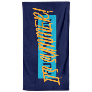 F**k Work It's Summer Beach Towel