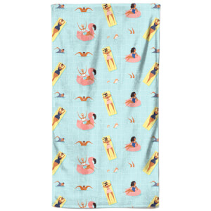 Pool Party Beach Towel