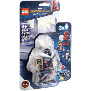 LEGO Super Heroes: Spider-Man and the Museum Break In (40343)