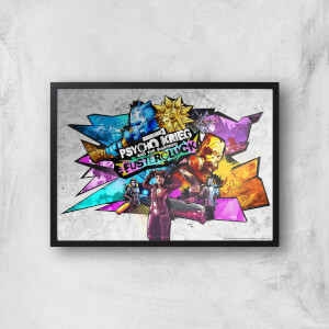 Borderlands 3 Fustercluck Giclee Art Print