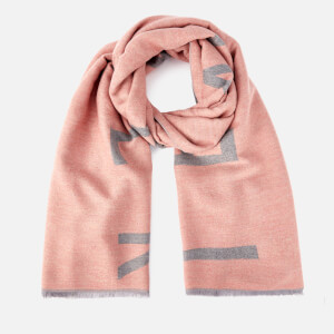 Ted Baker Women's Hulah Ted Woven Scarf - Light Pink