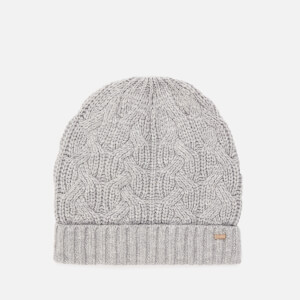 Ted Baker Women's Natiyya Knitted Cable Hat - Grey