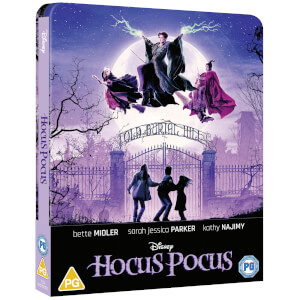 Hocus Pocus - Steelbook 4K Ultra HD (Include Blu-Ray 2D) - Esclusiva Zavvi