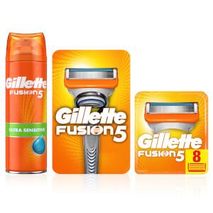 Fusion5 3-in-1 Rasierset