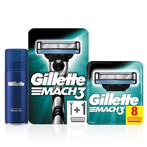 Gillette Mach3 Razor Bundle
