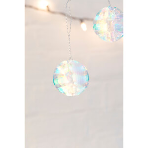 Kikkerland Iridescent Party Ornaments