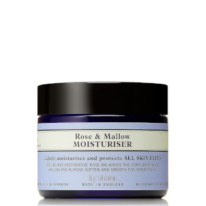 Rose and Mallow Moisturiser 50g