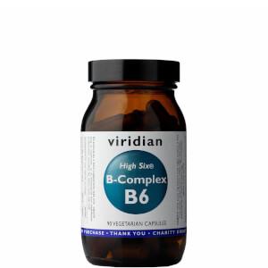 High Six Vitamin B6 with B-Complex Veg Caps - 90 Capsules