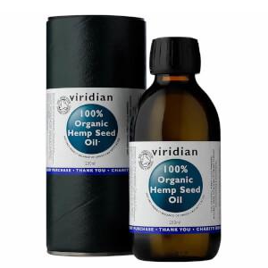 100pc Organic Hemp Seed Oil 200ml