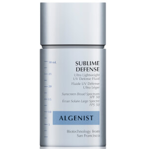 Algenist Sublime Defense Ultra Lightweight UV Defense Fluid SPF50 1 fl. oz