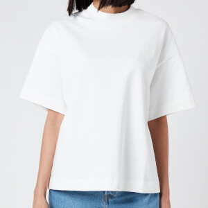 AMI Women's Heart T-Shirt - Off White