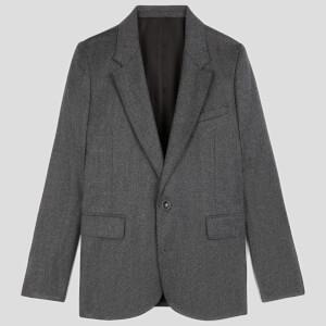 AMI Women's Classic Jacket - Grey