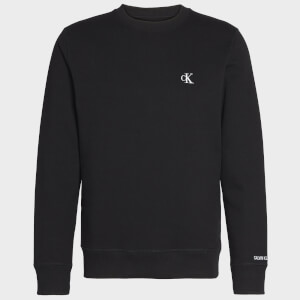 CK Jeans Men's Essential Crewneck Sweatshirt - CK Black