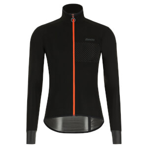 Santini Guard Nimbus Rain Jacket - Black