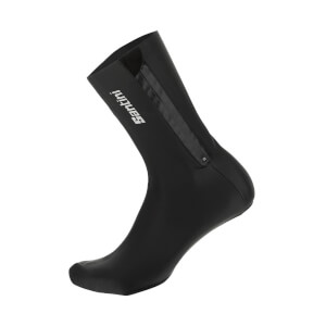 Santini Weatherproof Performance Overshoes - Black