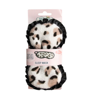 The Vintage Cosmetic Company Leopard Print Sleep Mask
