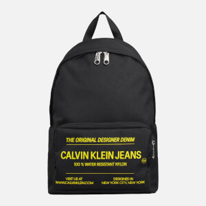 CK Jeans Men's Sport Essentials CMP Backpack - Black/Industrial Print