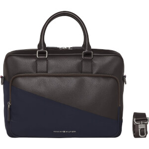 Tommy Jeans Men's Diagonal Computer Bag - Coffee Bean