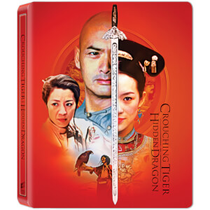 Crouching Tiger Hidden Dragon (20th Anniversary) - Zavvi Exclusive 4K Ultra HD Steelbook (Includes 2D Blu-ray)