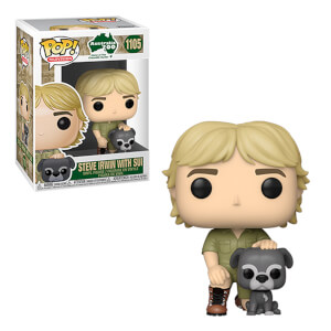 Crocodile Hunter Steve Irwin with Sui Funko Pop! Vinyl