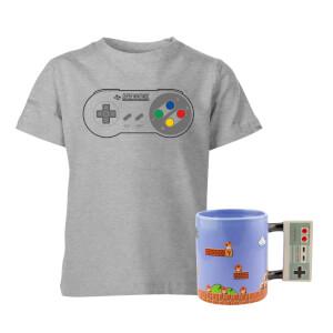 Kids' Nintendo T-Shirt & Mug