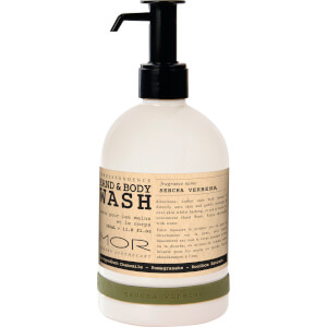 MOR Hand and Body Wash Sencha Verbena 350ml