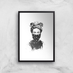 Rebel Girl Giclee Art Print