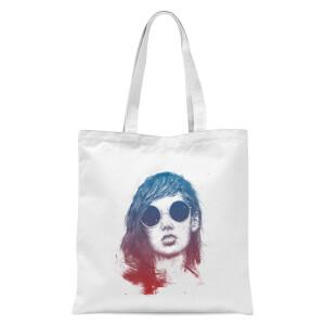 Summer Sunset Tote Bag - White