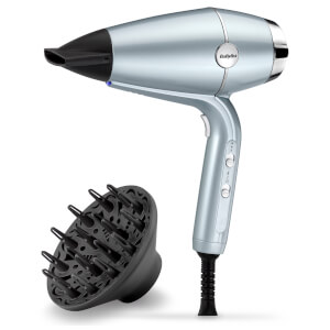 BaByliss Hydro Fusion Hair Dryer with Diffuser