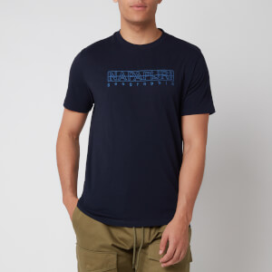 Napapijri Men's Sebel Short Sleeve T-Shirt - Blu Marine