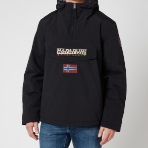 Napapijri Men's Rainforest Winter 2 Hooded Anorak Jacket - Black