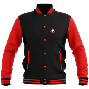 Grimmfest 2020 Unisex Varsity Jacket - Black/Red