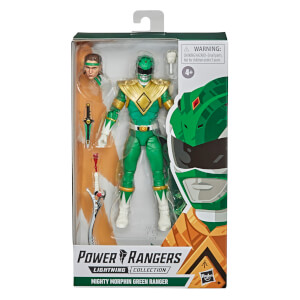 Hasbro Power Rangers Lightning Collection Mighty Morphin Green Ranger Action Figure