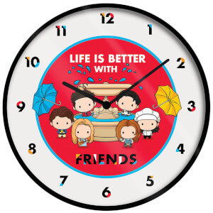 Friends Chibi Clock 10 Inch