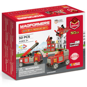 Magformers Amazing Rescue 50 Pieces