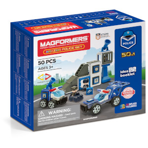Magformers Amazing Police 50 Pieces