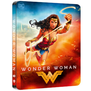 Wonder Woman - Zavvi Exklusives 4K Ultra HD Steelbook (Inkl. 2D Blu-ray)