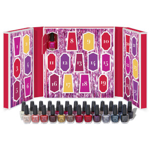 OPI Shine Bright Collection Nail Polish Beauty Advent Calendar 24 x 3.75ml